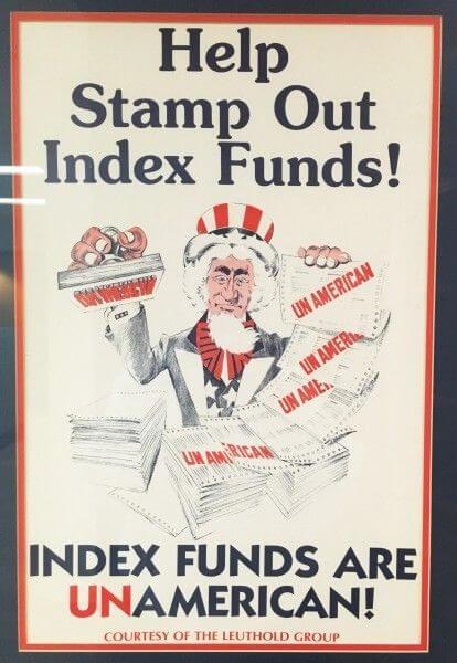 """""""Помогите уничтожить индексные фонды! Индексные фонды — это не по-американски!"""""""
